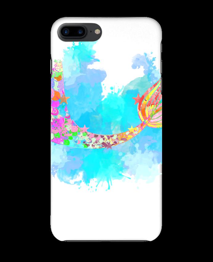 Coque 3D Iphone 7+ Watercolor Mermaid par PinkGlitter