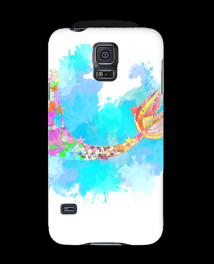 Coque Samsung Galaxy S5 Watercolor Mermaid par PinkGlitter