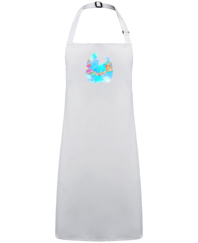 Tablier Sans Poche Watercolor Mermaid par  PinkGlitter