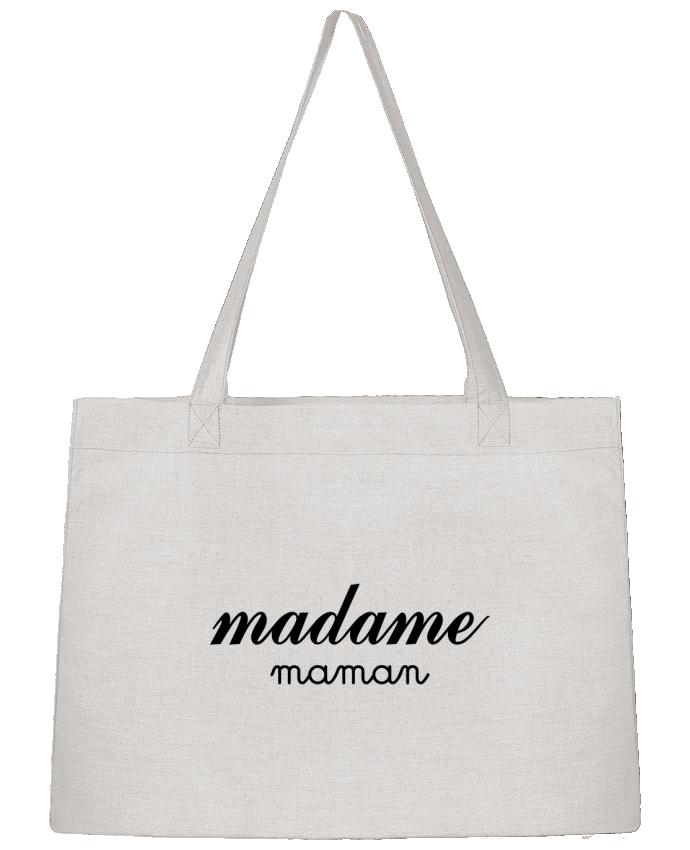 Sac Cabas Shopping Stanley Stella Madame Maman par Freeyourshirt.com