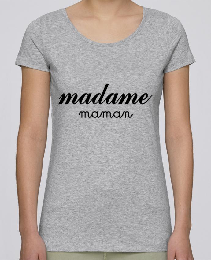 T-shirt Femme Stella Loves Madame Maman par Freeyourshirt.com