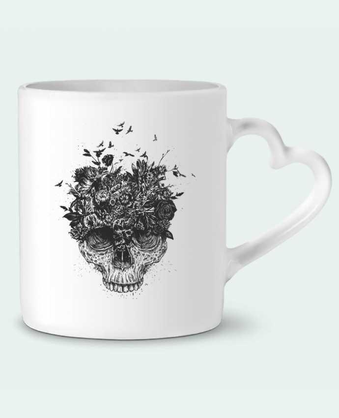 Mug Coeur My head is a jungle par Balàzs Solti