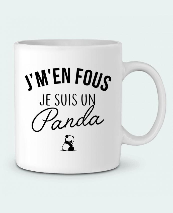Mug en Céramique J'm'en fous je suis un panda par LPMDL