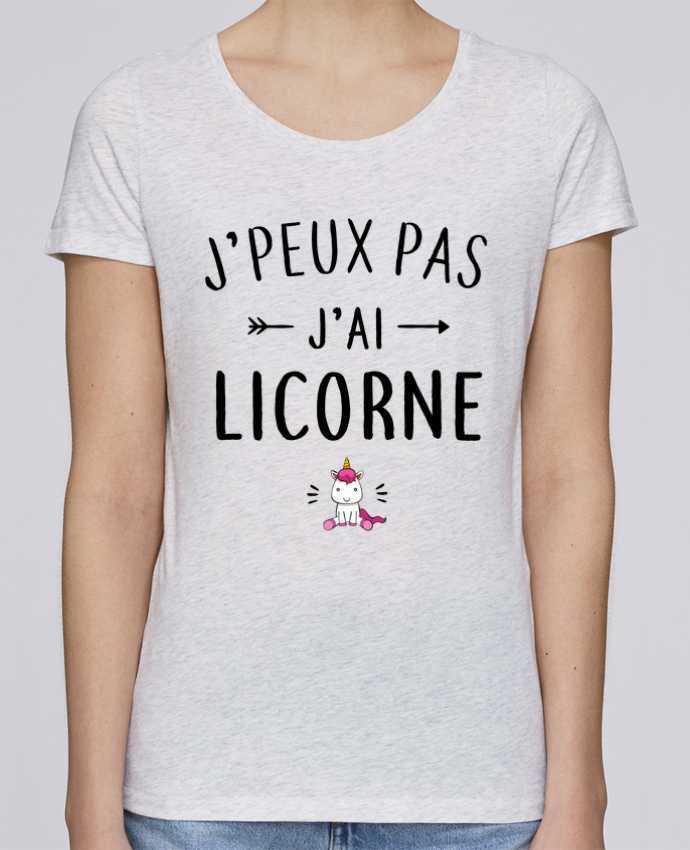 T-shirt Femme Stella Loves J'peux pas j'ai licorne par LPMDL