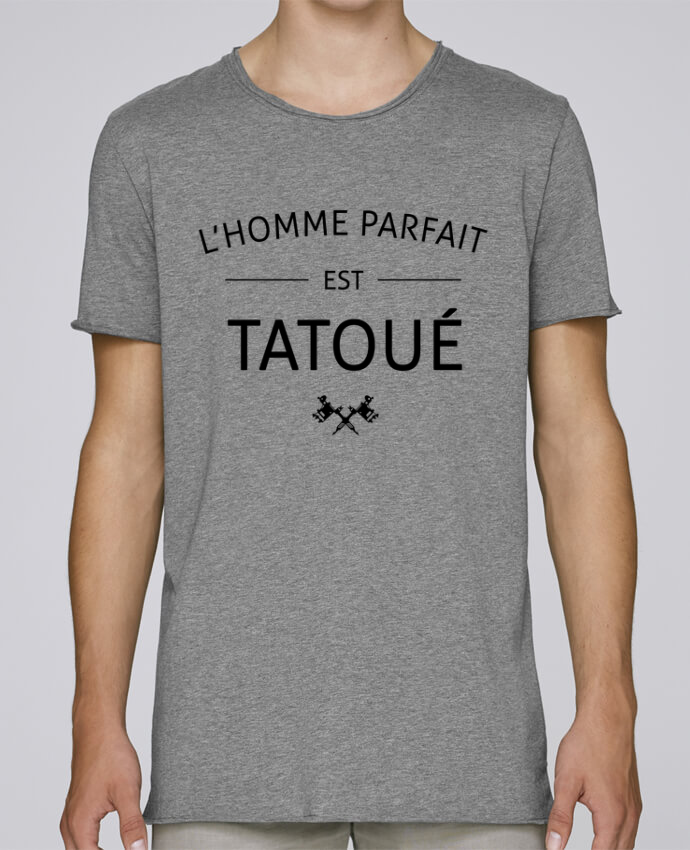 T-shirt Homme Oversized Stanley Skates L'homme parfait est tatoué par LPMDL