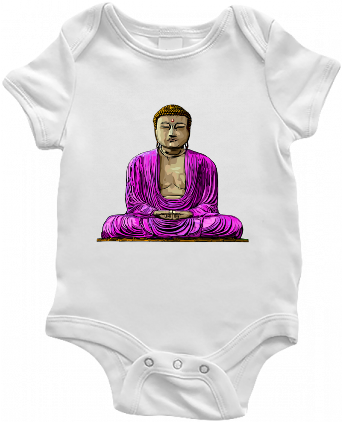 Body Bébé Bouddha Pop par Numartis