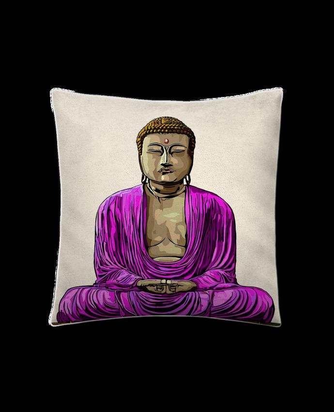 Coussin Toucher Peau de Pêche 41 x 41 cm Bouddha Pop par Numartis
