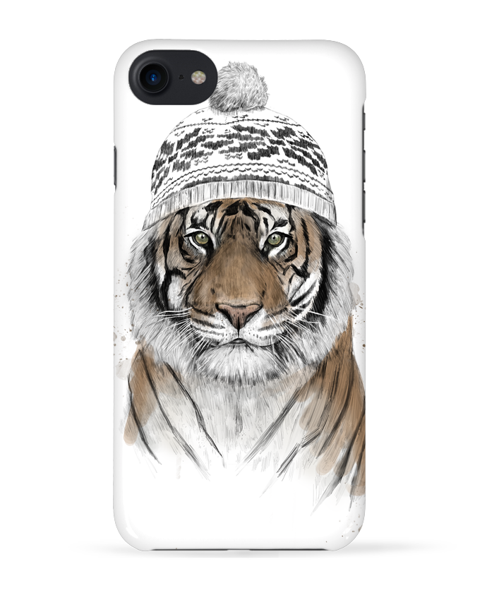 Coque 3D Iphone 7 Siberian tiger de Balàzs Solti