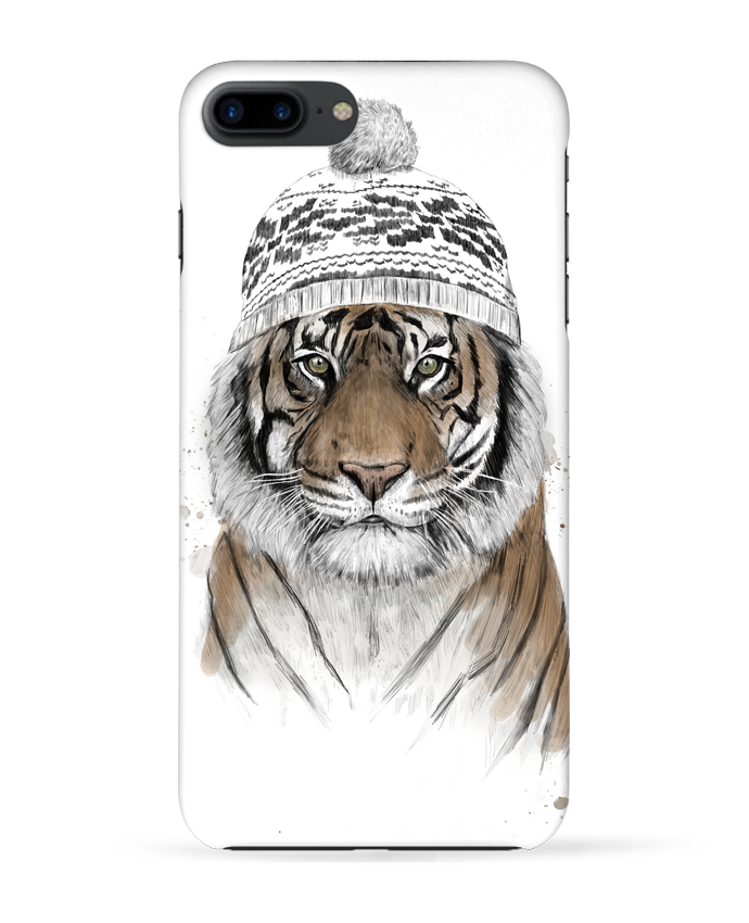 Coque 3D Iphone 7+ Siberian tiger par Balàzs Solti