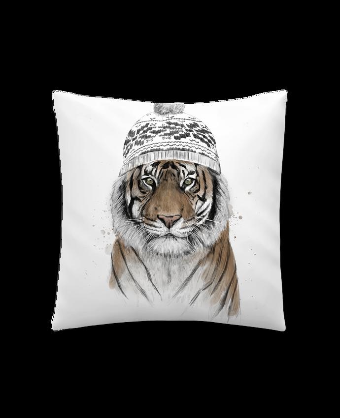 Coussin Synthétique Doux 41 x 41 cm Siberian tiger par Balàzs Solti