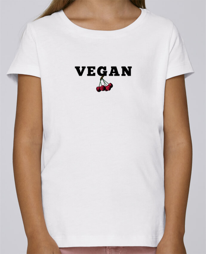 T-shirt Fille Mini Stella Draws Vegan par Les Caprices de Filles