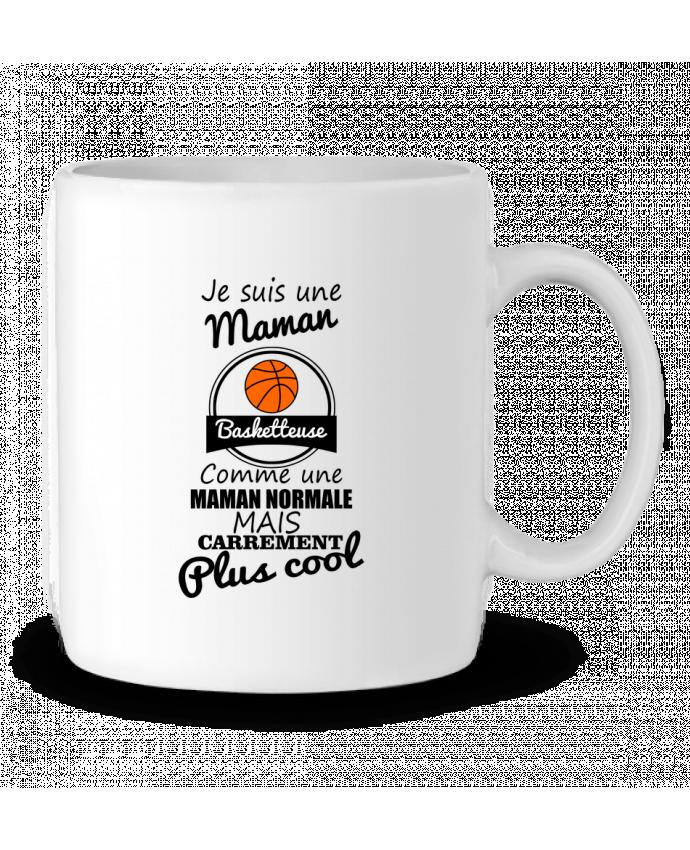 Mug en Céramique Je suis une maman basketteuse comme une maman normale mais carrément plus cool par Benichan