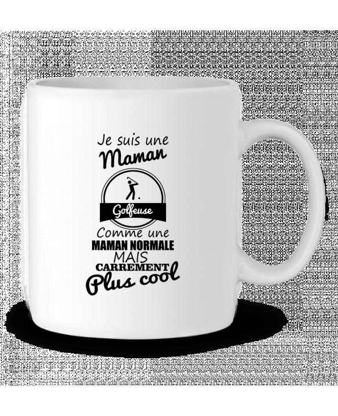 Mug en Céramique Je suis une maman golfeuse comme une maman normale mais carrément plus cool par Benichan