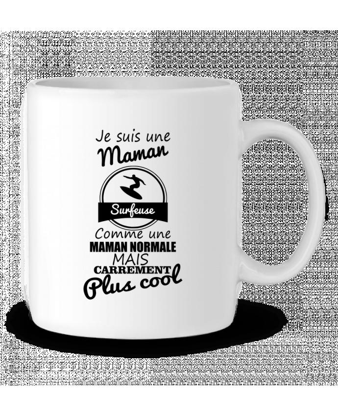 Mug  Je suis une maman surfeuse comme une maman normale mais carrément plus cool par Benichan