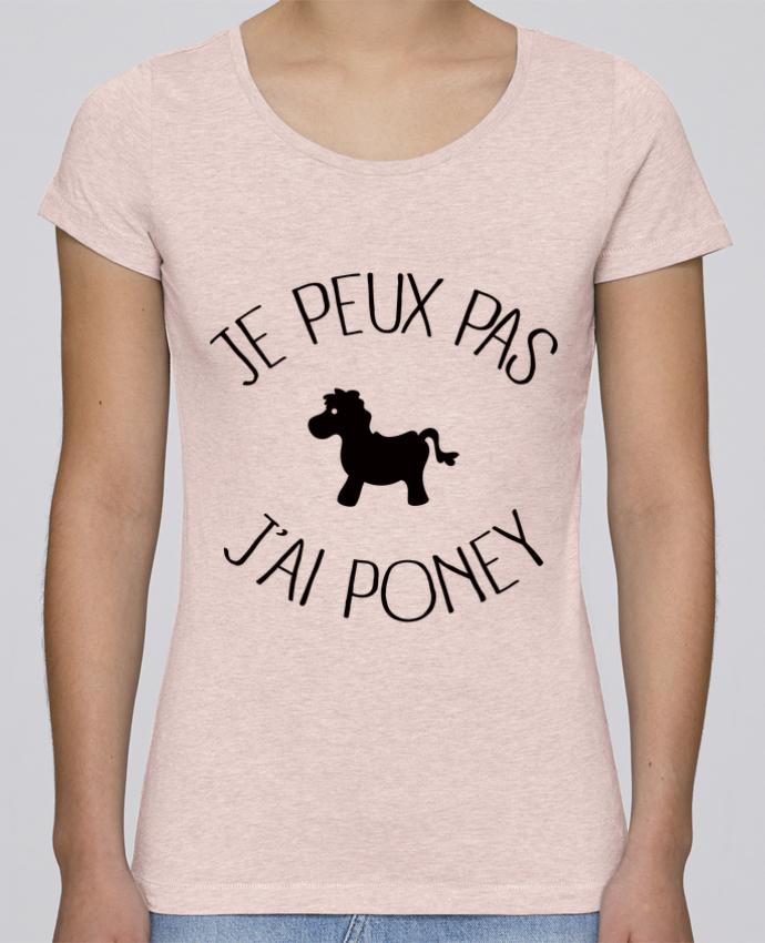 T-shirt Femme Stella Loves Je peux pas j'ai poney par Freeyourshirt.com