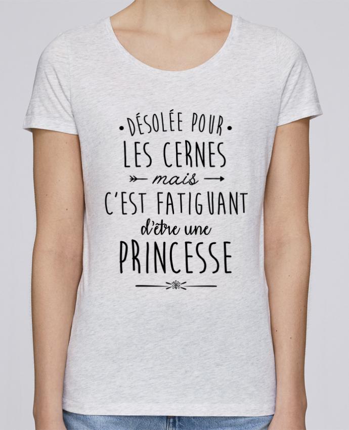 T-shirt Femme Stella Loves C'est fatiguant d'être une princesse par LPMDL