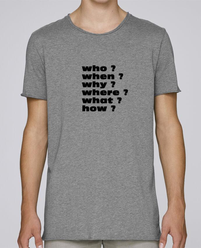 T-shirt Homme Oversized Stanley Skates Questions par Les Caprices de Filles