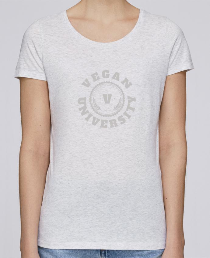 T-shirt Femme Stella Loves Vegan University par Les Caprices de Filles