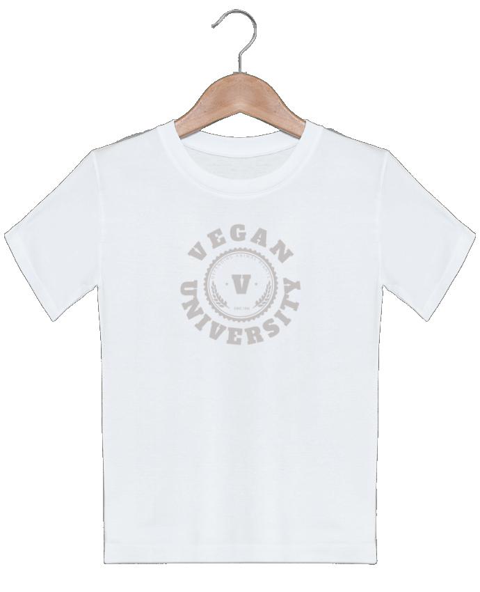 T-shirt garçon motif Vegan University Les Caprices de Filles