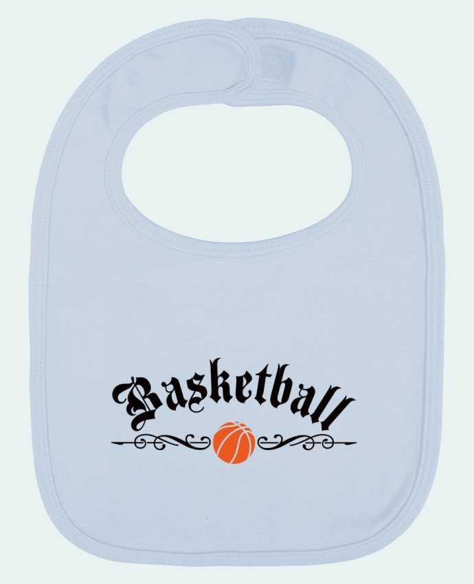 Bavoir Uni et Contrasté Basketball par Freeyourshirt.com
