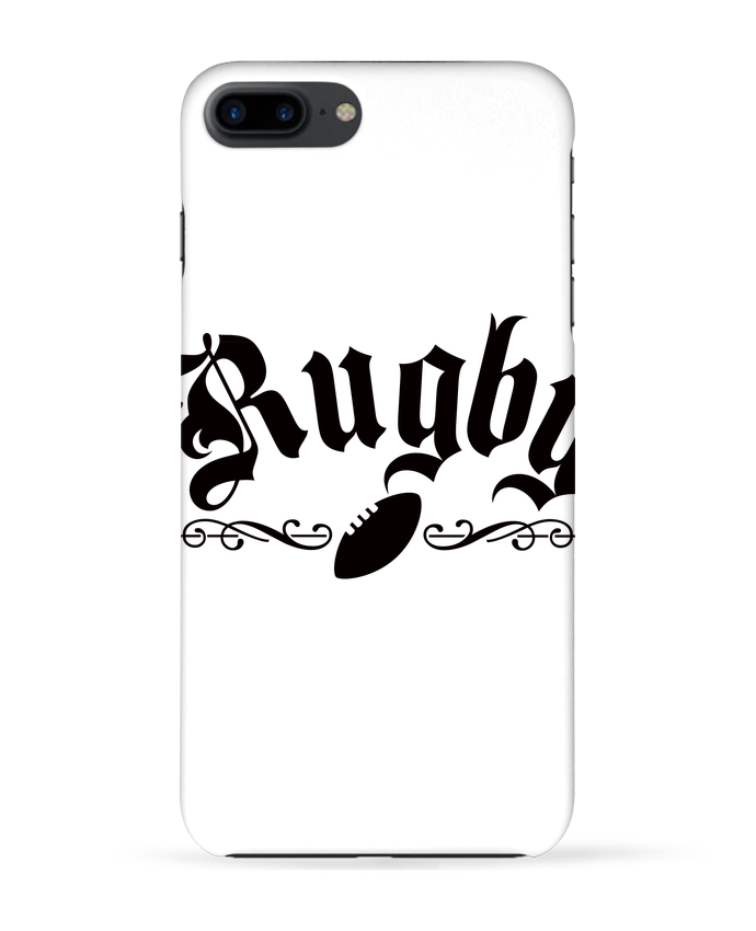 1813290 coque 3d iphone 7 blanc rugby by freeyourshirt com