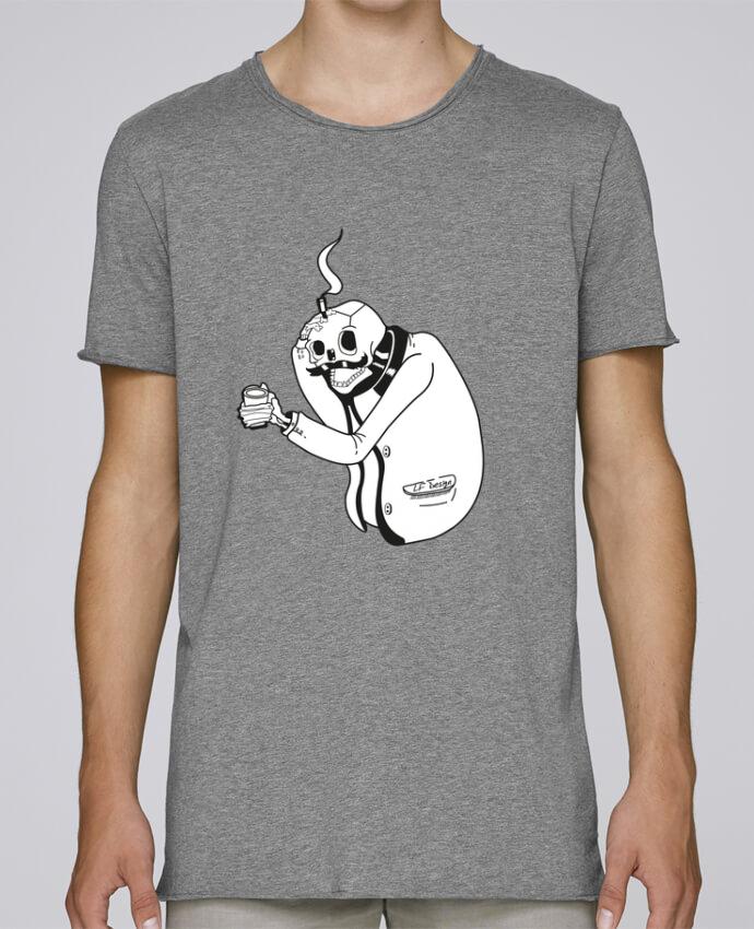 T-shirt Homme Oversized Stanley Skates Tête de mort par LF Design