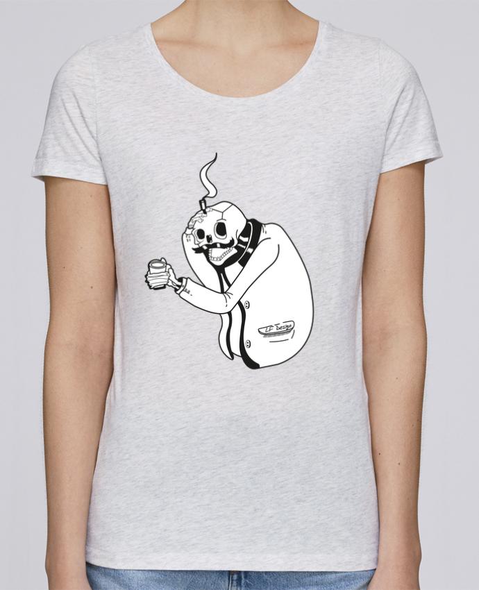 T-shirt Femme Stella Loves Tête de mort par LF Design
