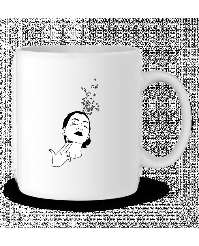 Mug en Céramique Flower suicide par tattooanshort