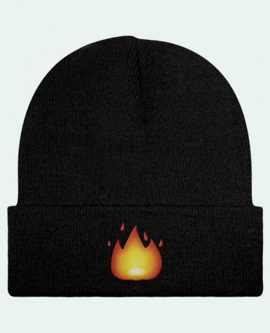 Bonnet Beanie à Revers Fire by tunetoo par tunetoo