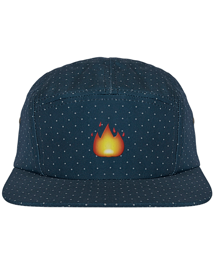 Casquette 5 Panel à Pois Fire by tunetoo par tunetoo