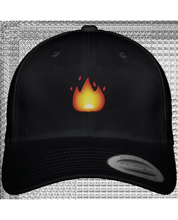Casquette Flexfit 6 panneau Fire by tunetoo par tunetoo