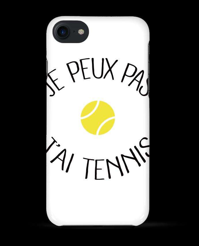 Coque 3D Iphone 7 Je peux pas j'ai Tennis de Freeyourshirt.com