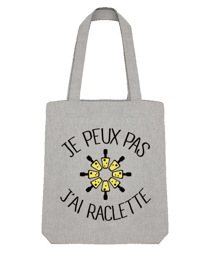 Tote Bag Stanley Stella Je peux pas j'ai Raclette par Freeyourshirt.com