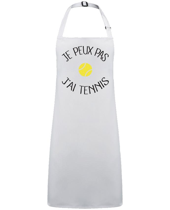 Tablier Sans Poche Je peux pas j'ai Tennis par  Freeyourshirt.com