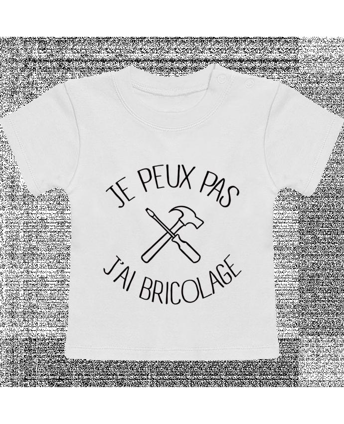 T-Shirt Bébé Manches Courtes Je peux pas j'ai Bricolage manches courtes du designer Freeyourshirt.com