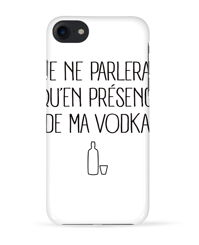Coque 3D Iphone 7 Je ne parlerai qu
