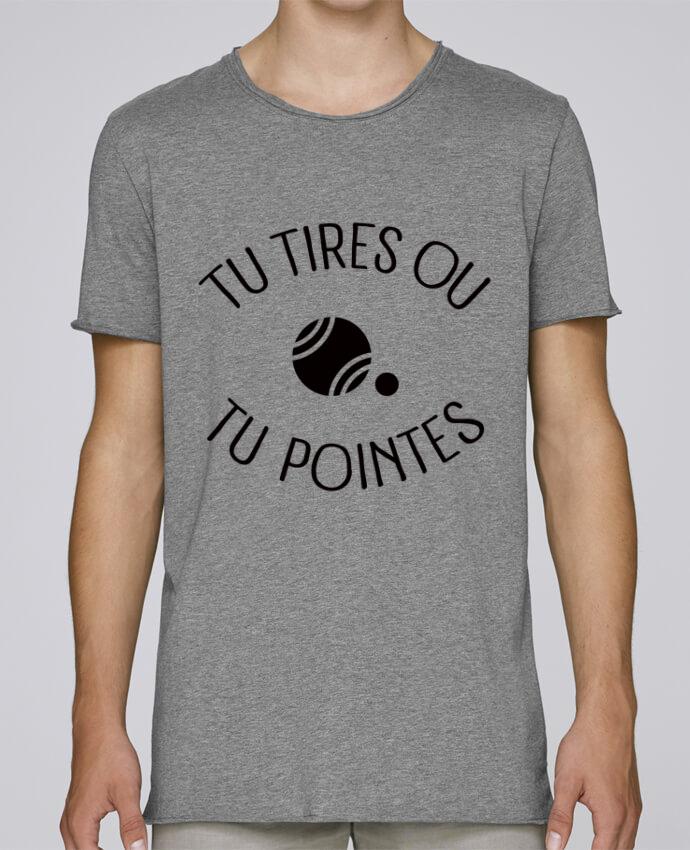 T-shirt Homme Oversized Stanley Skates Tu Tires Ou Tu Pointes par Freeyourshirt.com