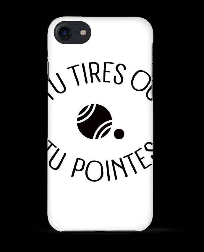 Coque 3D Iphone 7 Tu Tires Ou Tu Pointes de Freeyourshirt.com