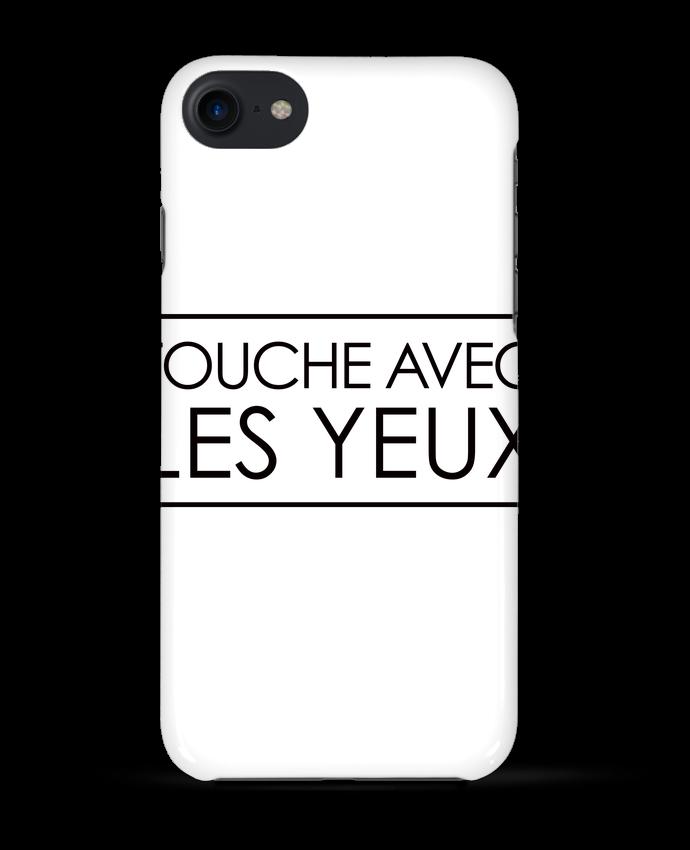 COQUE 3D Iphone 7 Touche avec les yeux de Freeyourshirt.com