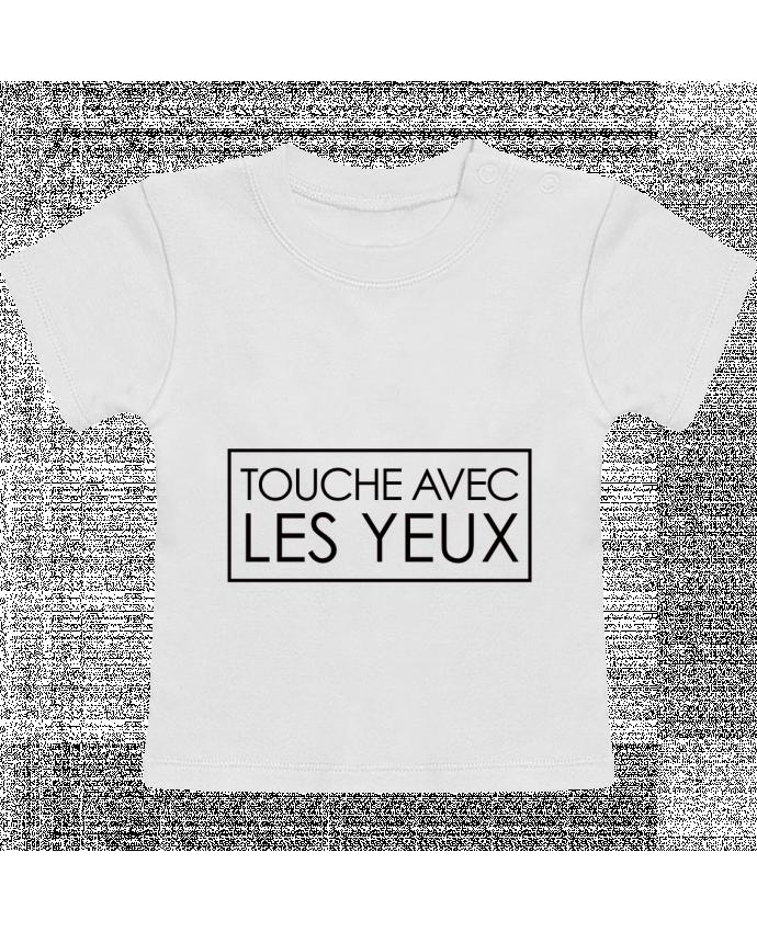 T-Shirt Bébé Manches Courtes Touche avec les yeux manches courtes du designer Freeyourshirt.com