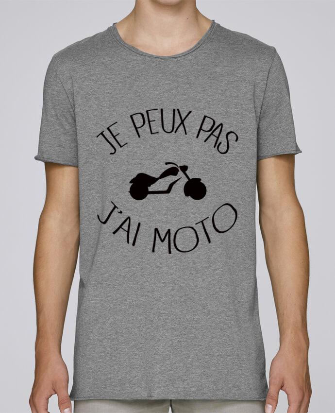 T-shirt Homme Oversized Stanley Skates Je Peux Pas J'ai Moto par Freeyourshirt.com
