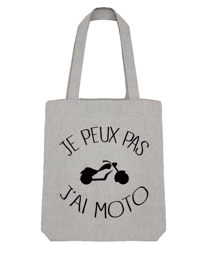 Tote Bag Stanley Stella Je Peux Pas J'ai Moto par Freeyourshirt.com