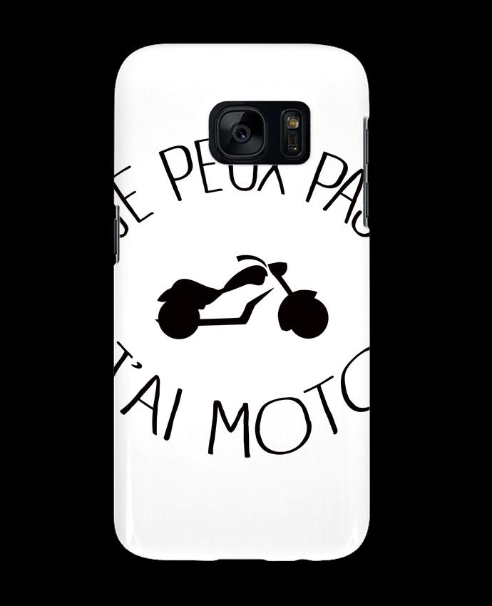Coque 3D Samsung Galaxy S7 Je Peux Pas J'ai Moto par Freeyourshirt.com