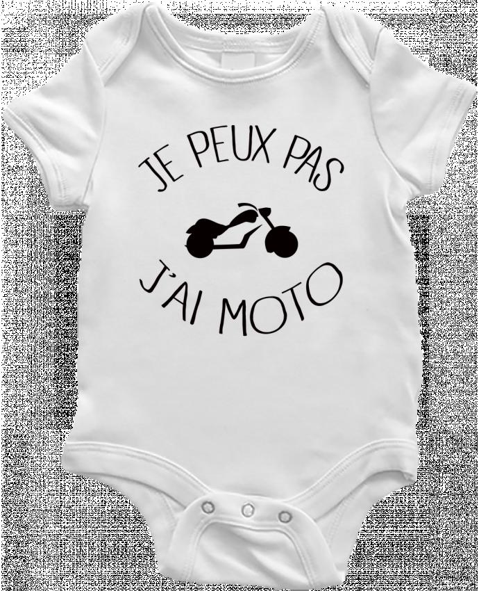 Body Bébé Je Peux Pas J'ai Moto par Freeyourshirt.com