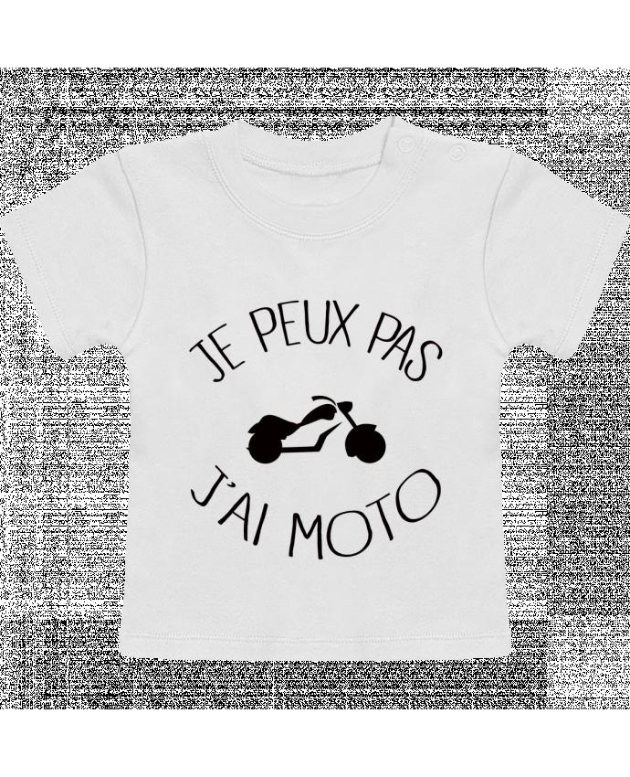 T-Shirt Bébé Manches Courtes Je Peux Pas J'ai Moto manches courtes du designer Freeyourshirt.com