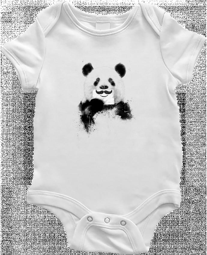 Body Bébé Funny Panda Balàzs Solti par Balàzs Solti