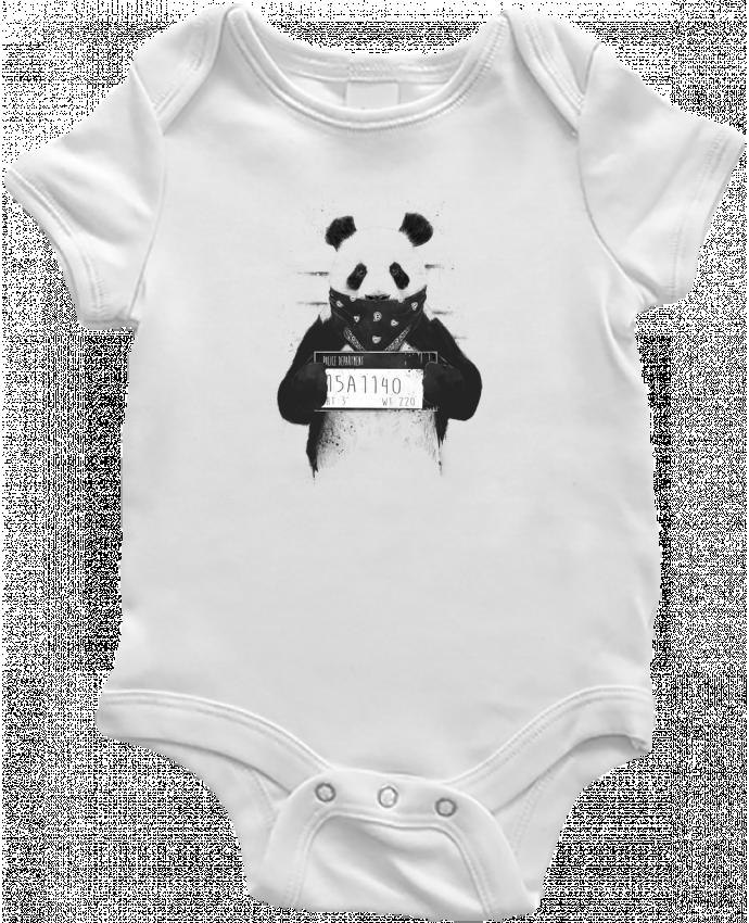 Body Bébé Bad panda par Balàzs Solti