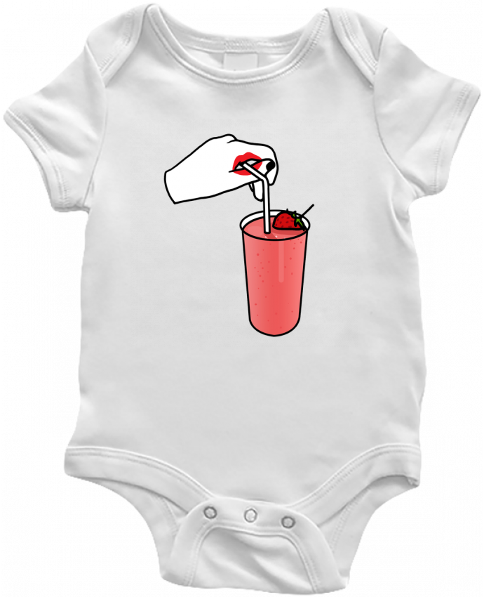 Body Bébé Milk shake par tattooanshort