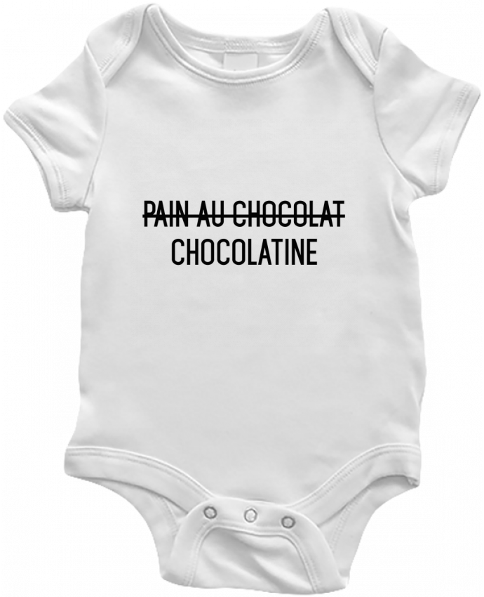 Body Bébé Chocolatine par tunetoo