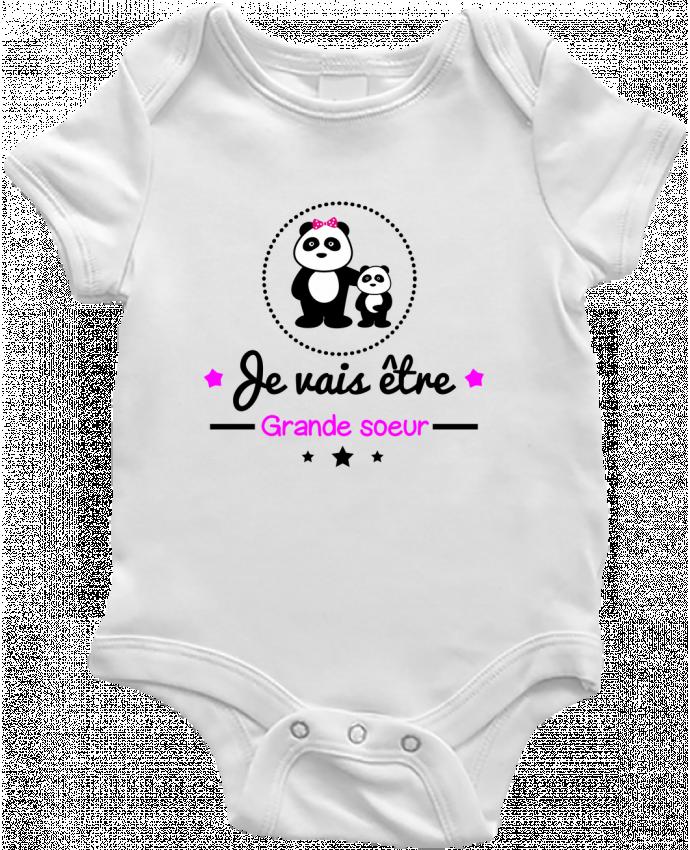 Body Bébé Bientôt grande soeur - Future grande soeur par Benichan